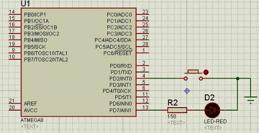 wiring buttons without pull-up resistor