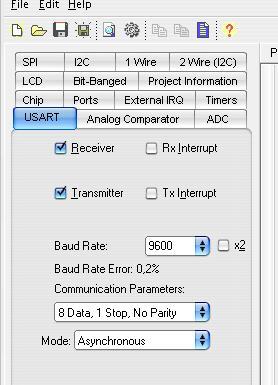Data transfer via the UART AVR  Lesson 9 AVR - GreenChip com ua