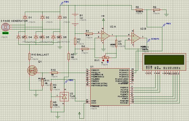 Схема контроллера схема