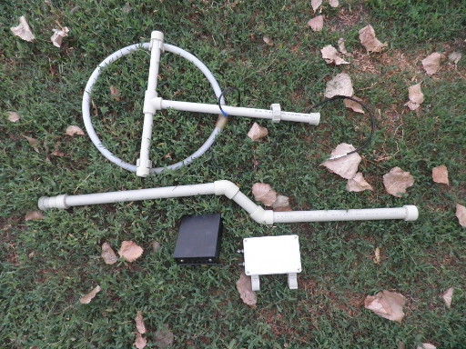 Штанга металлоискателя из полипропилена своими руками