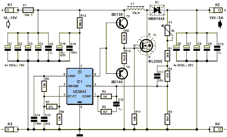 Микросхема подает ШИМ-сигнал